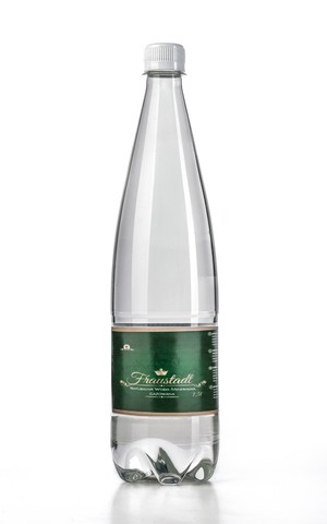 Mineral water carbonated 1 l.