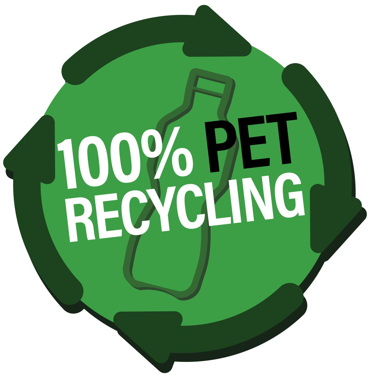 100% PET recycling