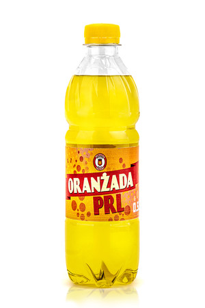 MARINO Polish cult orangeade PRL-Yellow